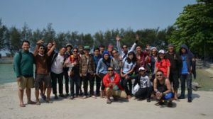 ANTV Sport tiba di Pulau Pari
