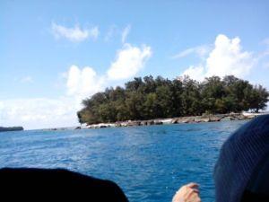 Perjalanan menuju Pulau Perak