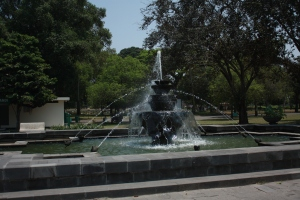 Taman Candi yang rindang