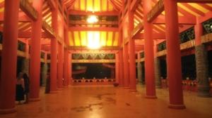 Interior di salah satu bangunan, sepertinya hanya digunakan saat acara tertentu