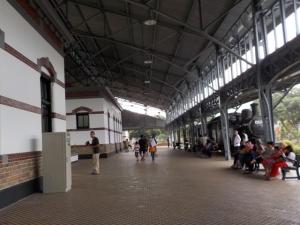 Interior dalam stasiun