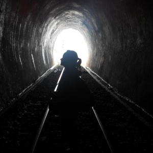Di dalam terowongan