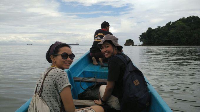 perahu menuju nusa kambangan